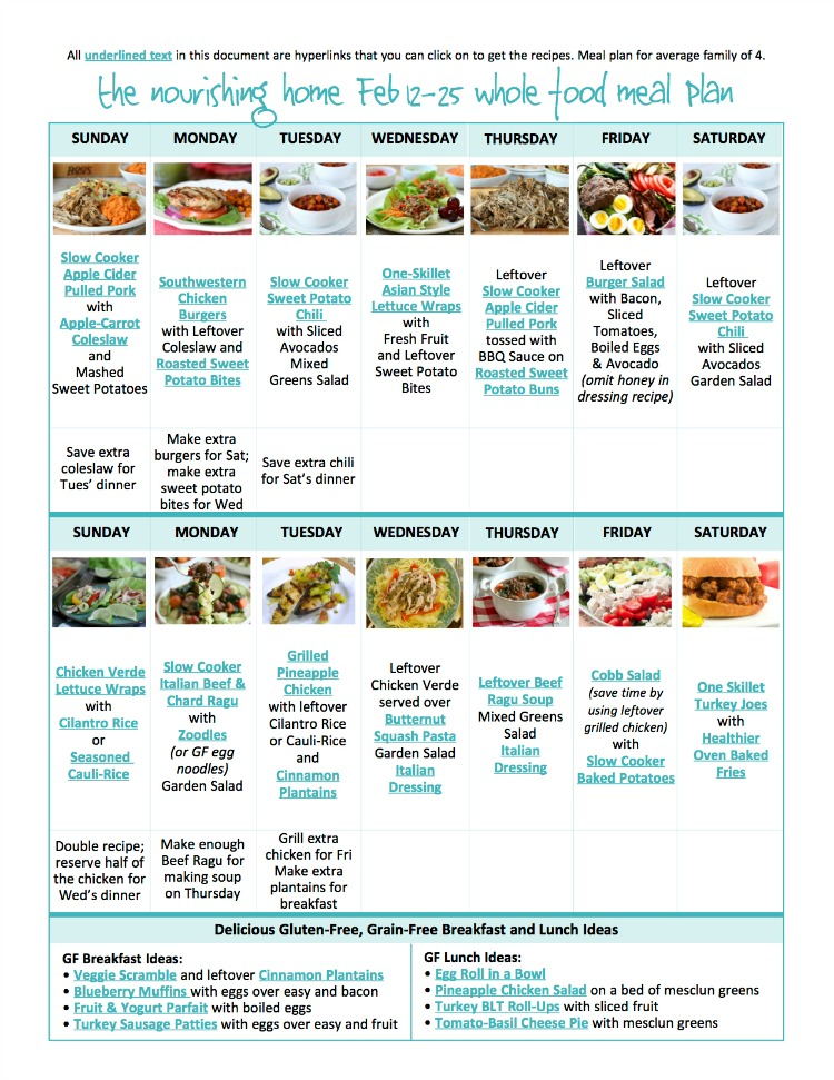 healthy diet meal plan 7 day
