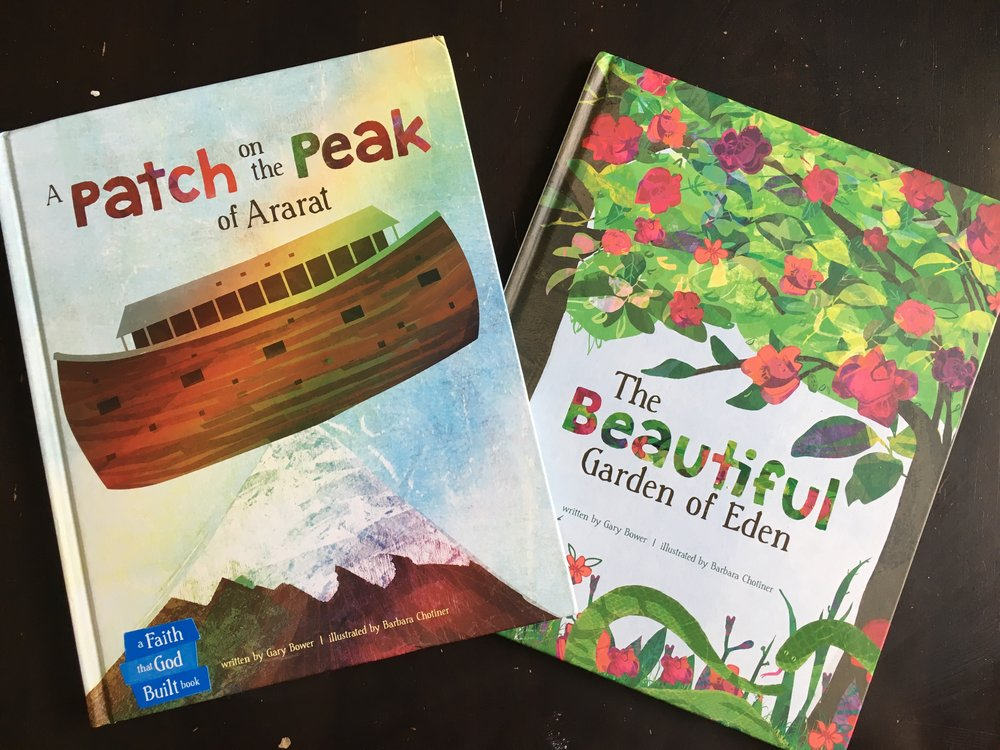 Are you always on the hunt for resources that help the Word of God sink deep into little hearts? We are too. That's why we're so excited to share these two new books with you- perfect for making Scripture come alive in the live of your children.