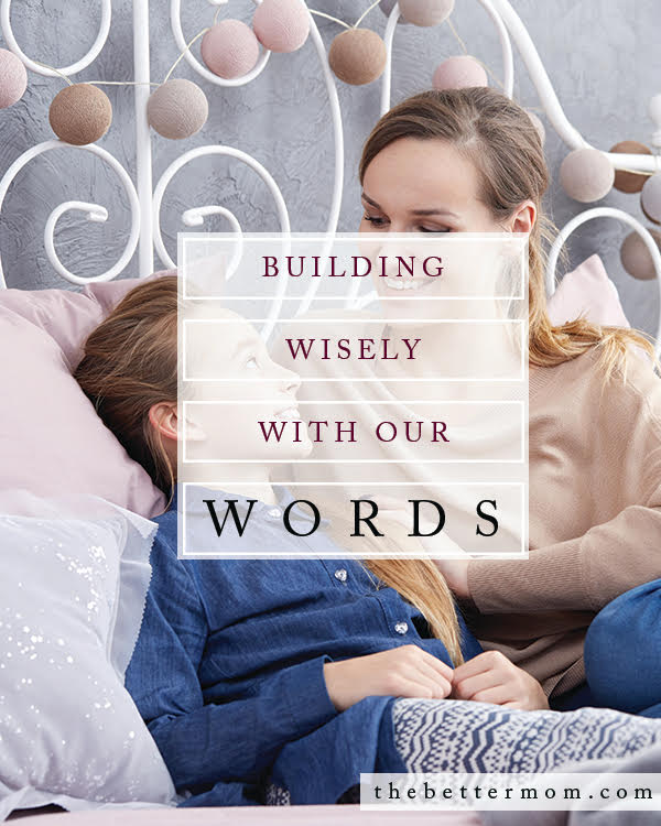 Do you build with your words? When we take the time to invest in deep, meaningful conversation, we build intimacy, trust, and comfort in our relationships. Pause to discover God's heart for your communication and relationships today!