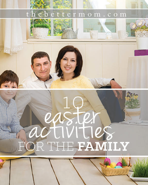 Are you ready to welcome spring, and all the beauty of Easter in your home? These ideas will help your family celebrate this season and your children understand that Jesus has risen!