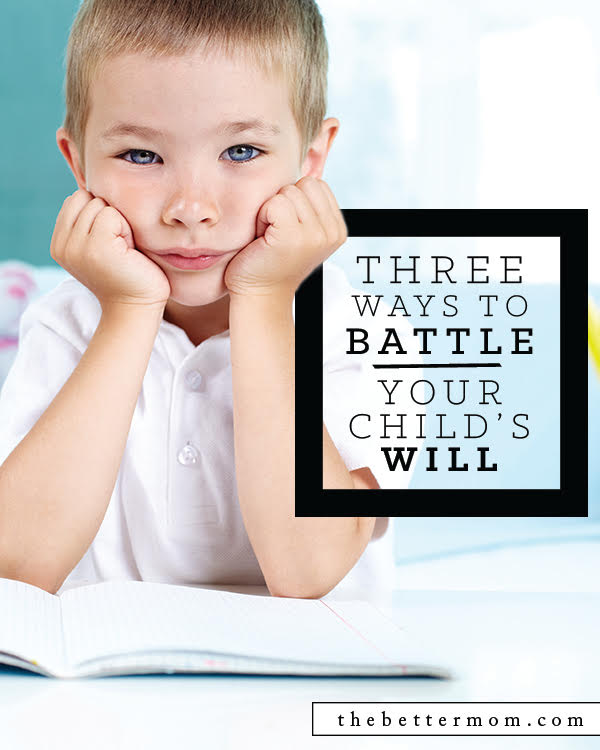 Are your children strong willed? Not lacking in passion or opinions? That's a good thing! And the reality is, we will not win their hearts by winning every battle, so choose wisely! Learn how the parameters and focus on what truly matters.