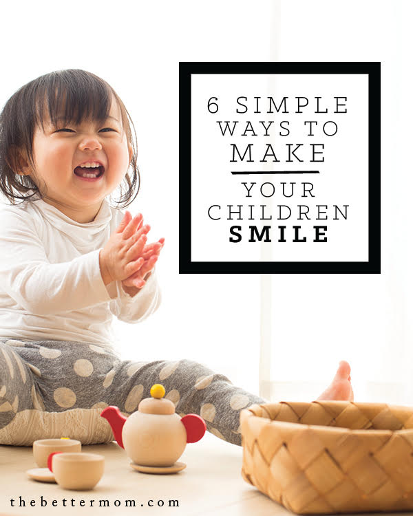 Do your children see you smile? There is nothing more delightful to our kids than to see their parents experience Joy! And there is nothing more sweet than to see our children experience the same. Here are some ideas to light up their faces and connect to their hearts.