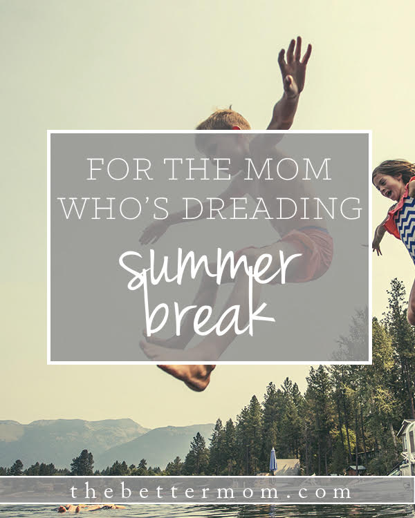 Are you nervous about the summer? Overwhelmed planning activities and new rhythms? Today, make a plan to maximize this sweet season with your kids!