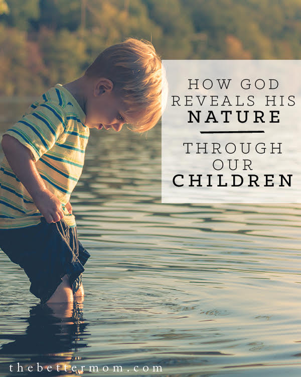 What are you learning about God by watching your children? Being a parent gives us new depth to understanding God's heart for us. Be encouraged that God has gone before you, and is with you as you love your littles today. You can know more of him as you care for them.