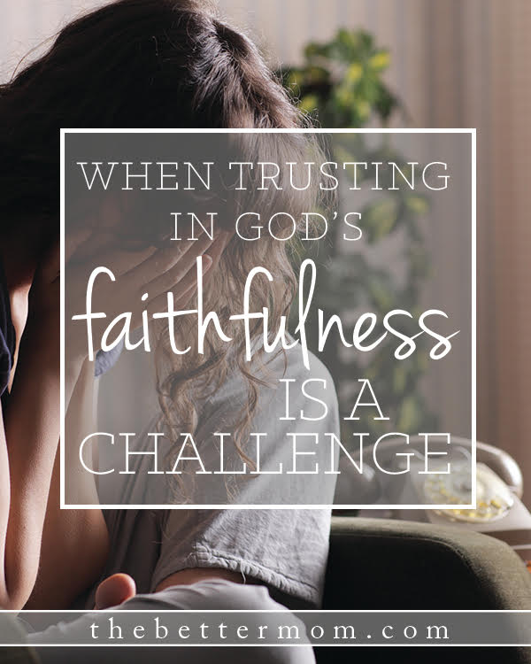 Have you been waiting, or anxious in a transition, and ever wondered if God was going to show up in the circumstances of your life? Our emotions can run wild in those seasons, but you can learn to trust that that there. He is faithful!