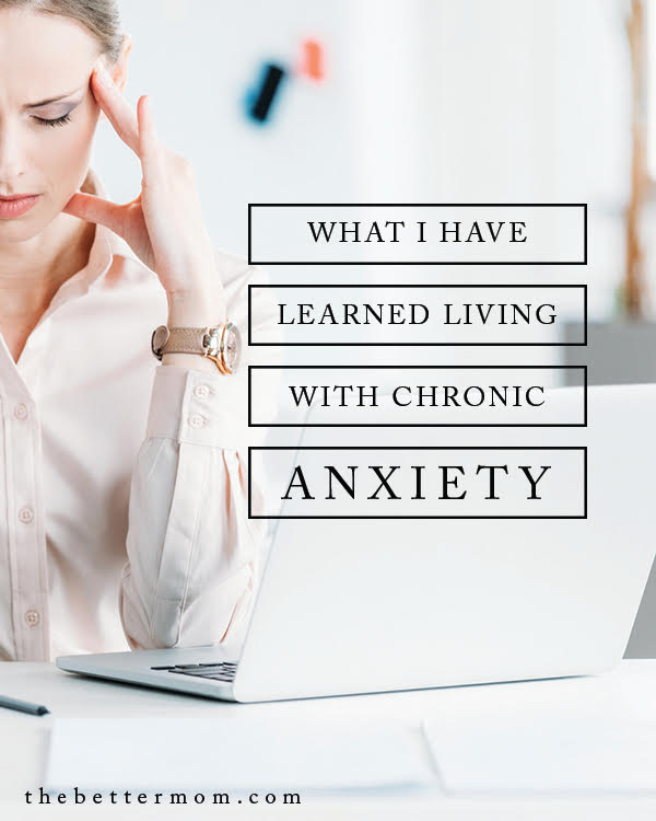 What happens when anxiety doesn't leave? When we battle worry and it always persists? If you are living with chronic anxiety, God is with you! Here are some things to consider that he may be teaching you in your journey.