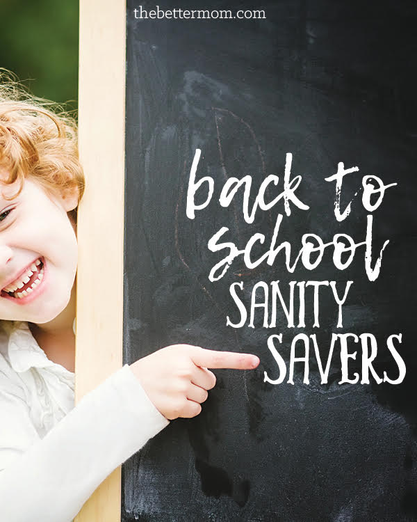 Its here! Back to school and crazy calendars and so much to juggle for a mom. Are you feeling the crunch? These sanity savers will equip you and encourage you in the days of managing a school rhythm.