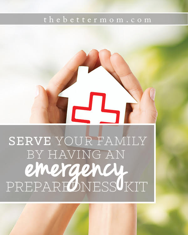 With so many displaced in the wake of floods, hurricanes, and fires right now, it can be a sobering reminder that all of our families need to know what to do in an emergency. Do you have a plan in place? Today we are sharing the basics of how to put together an emergency preparedness kit- it's easier than you may realize to get ready to care for your family!