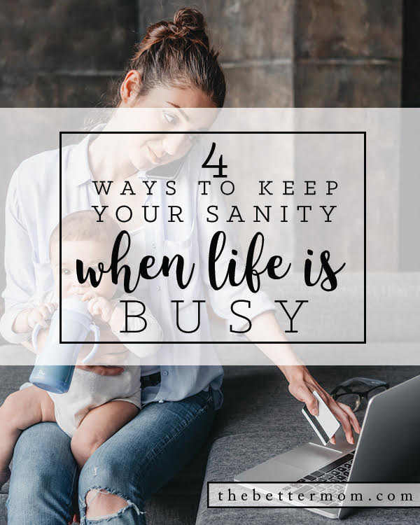 Life is busy. We can't escape many of our responsibilities and activities- but we can carry the peace of God with us in all we do! Here are some practical ways to go slow, be prepared for what these days bring and keep Christ at the center of your family.