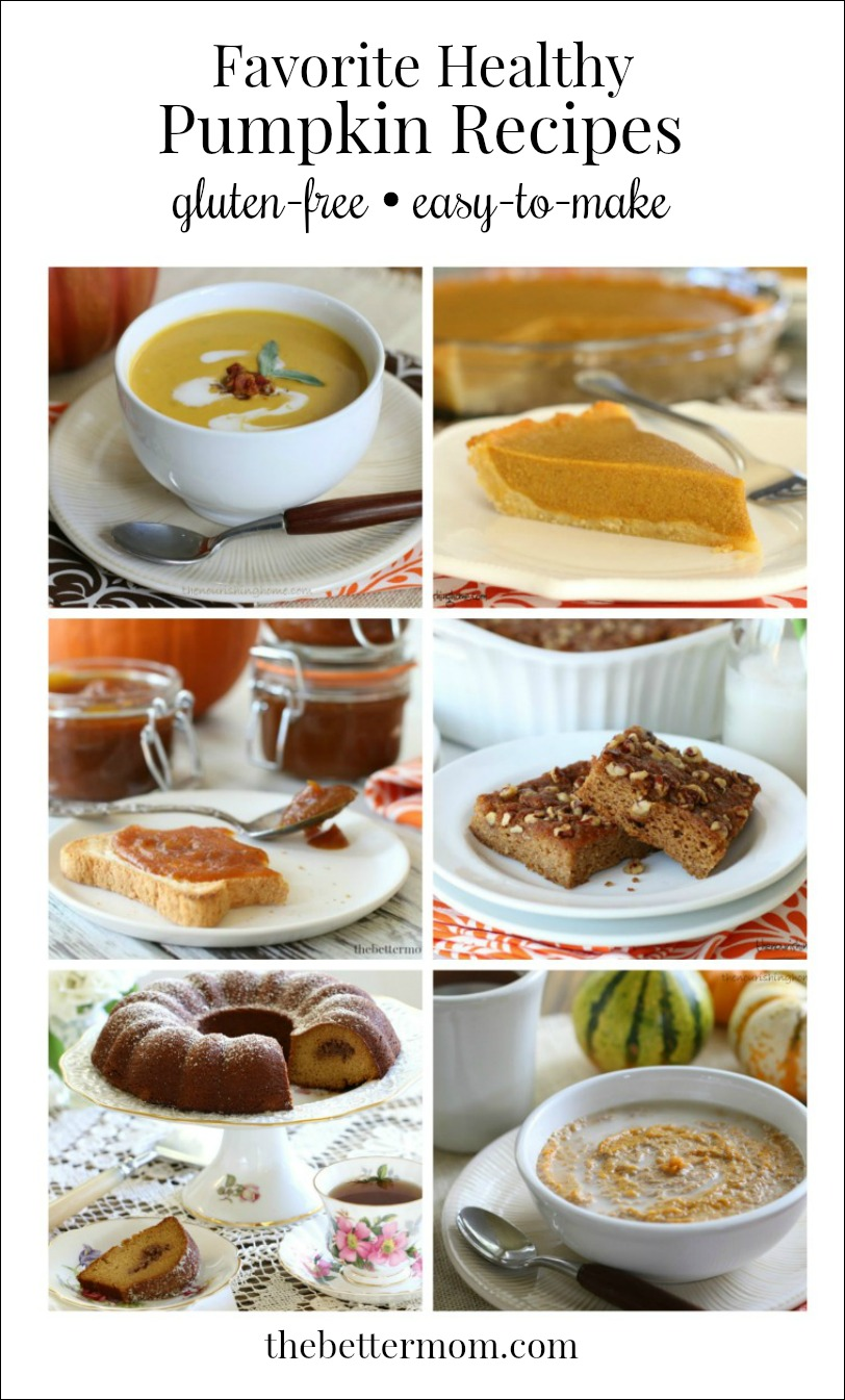 I can't get enough of pumpkin recipes!!! Here are some of my very favorite (and HEALTHY) dishes with pumpkin!!