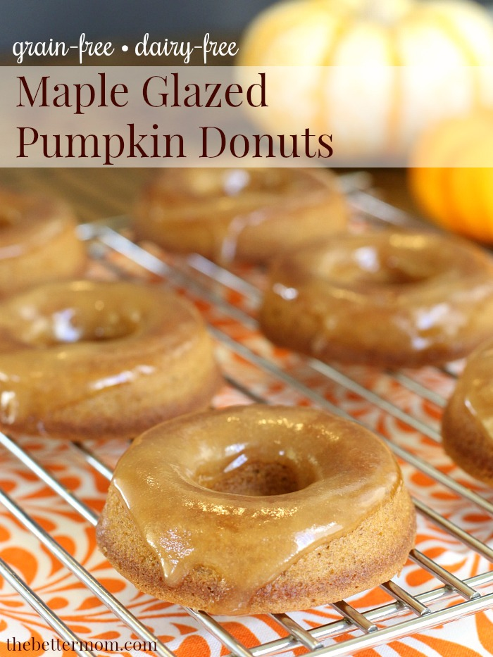 Do you LOVE a good pumpkin donut like I do?! We have a delicious recipe for a gluten-free version of the classic pumpkin donut! You will love it!