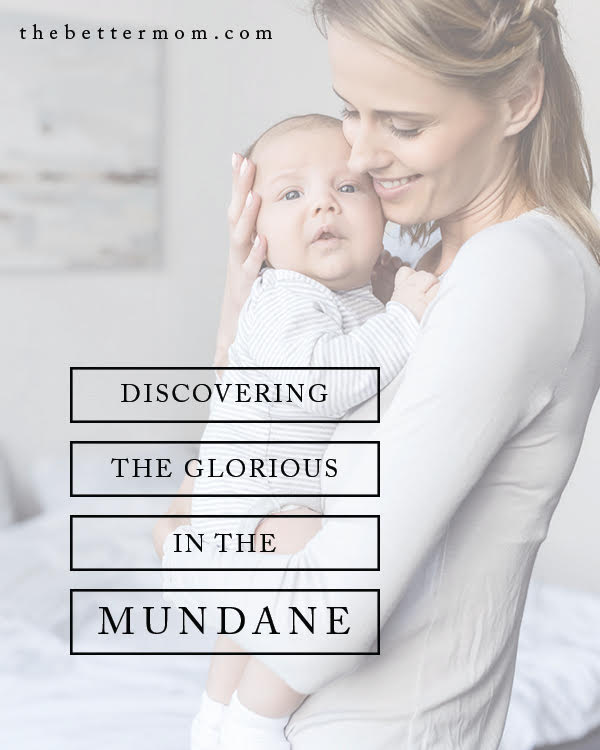 Do you feel overwhelmed by the mundane? Join Christy Nockels today as she shares her story of motherhood with us! Her encouragement for how God longs to meet you in the rhythms of your day is sure to lift your heart and give you hope!