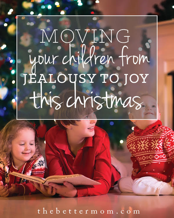 Have you ever wondered how to help your children make the shift from jealousy to joy? We have a constant opportunity to compare ourselves, especially on social media. It is so easy for our kids (and us) to get wrapped up in trying to be like someone else.  What is the solution to this problem?