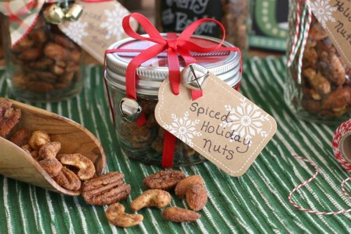 Homemade Gifts in a Jar  are a thoughtful way to spread Christmas cheer! To help, we're sharing just a few of our favorite edible gifts that are as easy-to-make as they are tasty!