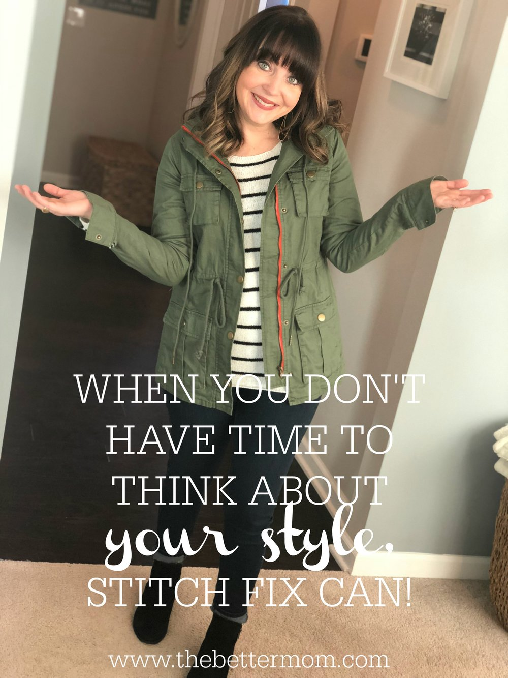Are you tired of the same ol' when it comes to your wardrobe? How would you like to have a personal stylist? Sounds fancy, doesn't it? Well, it's not fancy, but it is fun! I LOVE Stitch Fix and today I am sharing a special promo link where you can get your very first fix sent to you for FREE! Check it out!