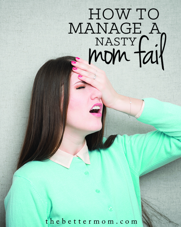 Lose it with your family? Let's face it, moms fail sometimes! But, we can plan now for how to recover and restore relationships with our kids when we do. Here's your way back, mamas!