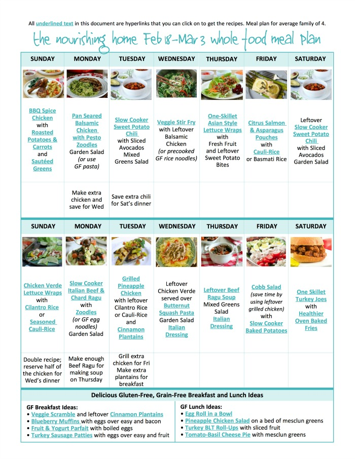 Are you looking for a healthy meal plan the entire family will love?! The Better Mom Meal Plans are your answer! (and...they are FREE!)