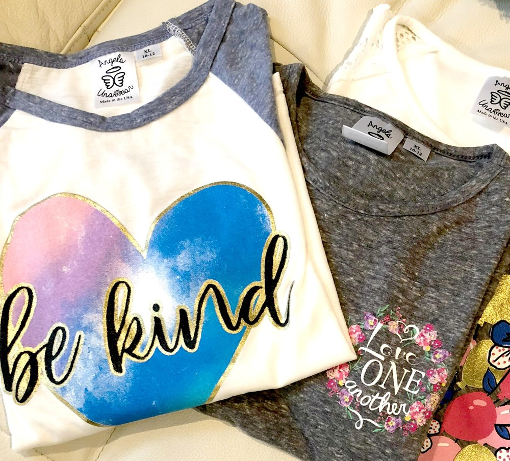 Wear What You Believe ---> I LOVE that tagline for a company that wants to spread the hope and love of Jesus! Angels Unawear has some adorable choices for kids, as well as a mission to stand behind. Today I am sharing all about it! Join me here....