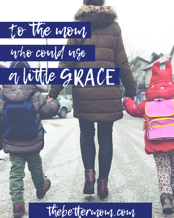 Moms, none of us have it all together. Sometimes, our weakness can actually be a blessing- because it allows grace to appear even more in our lives! God's grace is here and it's available to us, together, today!