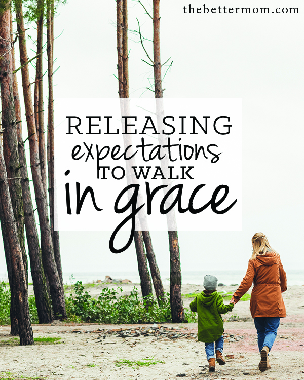 Do you tend to let your experiences and emotions determine what you believe is true? Moms, we serve a never changing God who is steady despite our circumstance. Let's release our expectations and worry to Him today. Grace is waiting.
