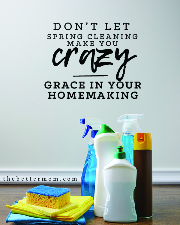 Spring.... and spring cleaning are here! Are you already feeling the pressure to make your home perfect? There is grace for you today as you seek to bless others in your space!