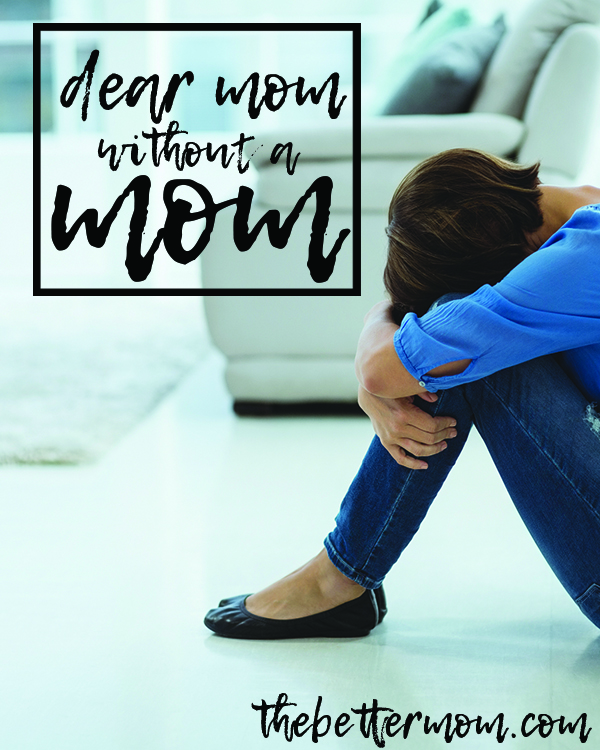 Have you lost your own mom? The legacy of your own mother continues on in your motherhood! Embrace all God has for your story today... even the parts that are difficult can be used by him!