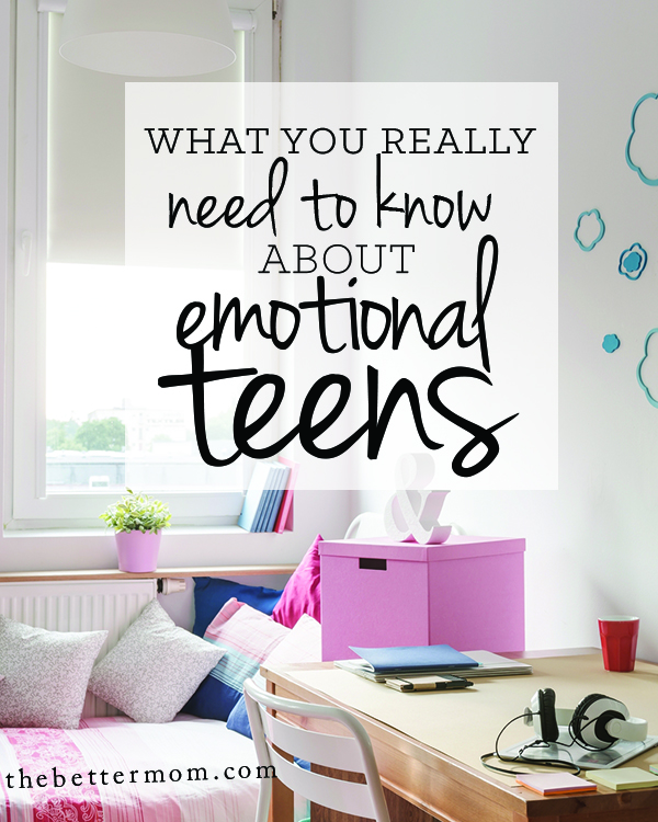 Are you parenting teens? It's a complicated season for parents and kids alike! Knowing some facts about their emotional development however, can help you love them and understand them well! Here's what every Mom needs to know...