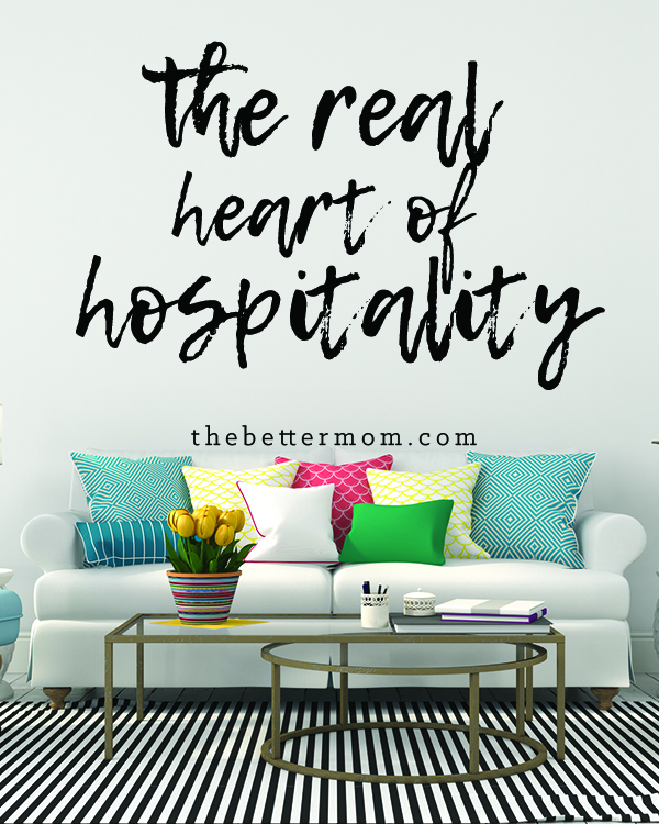 We often think of hospitality as offering an invitation, but what if all it requires is letting someone in? Today's post is a story that will make you consider just how simple it is to welcome others into your heart and you home!