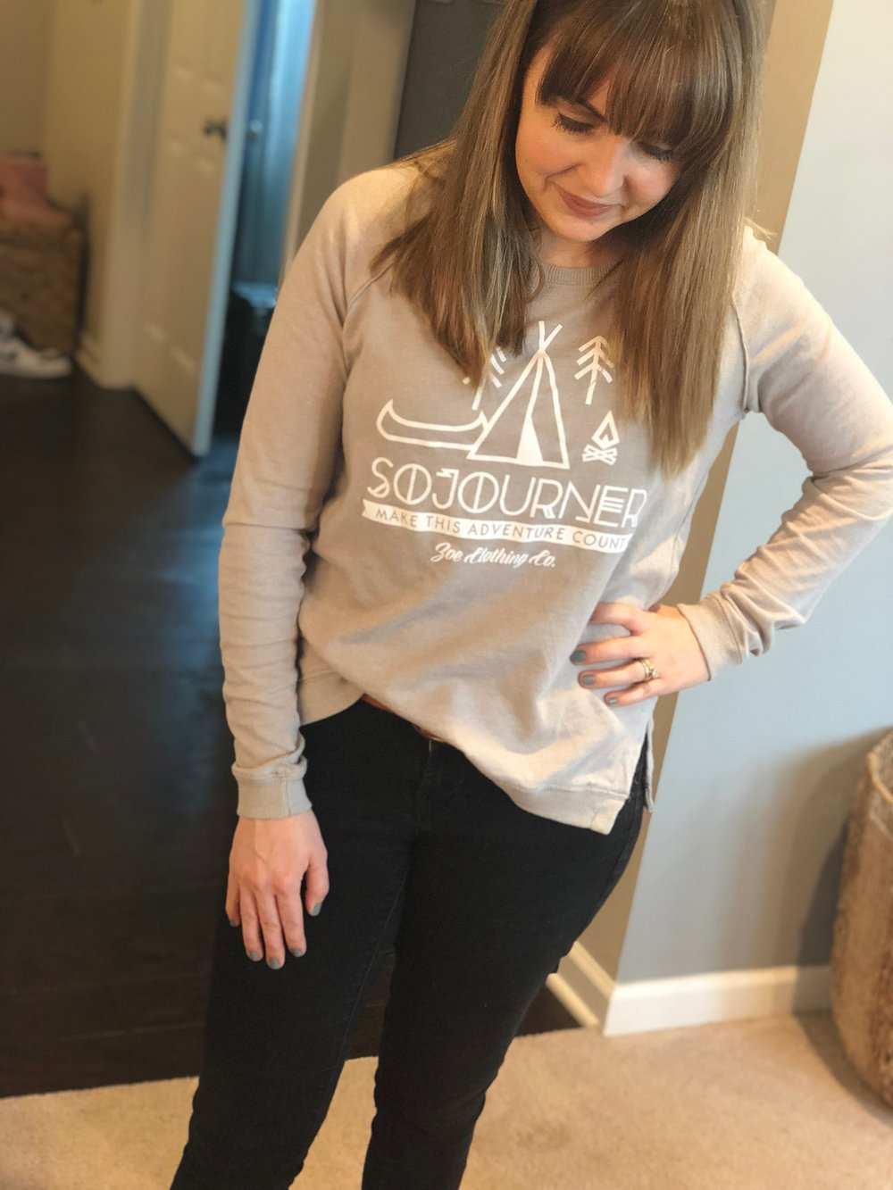 Comfortable clothing that looks great and encourages our faith? Yes please! We are partnering today with a brand we know you will love and can't wait to share with you!