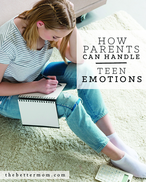 Does your teen have big emotions that feel out of control? Do they trigger your own? Here's why those feelings matter and how you can respond with love and wisdom!