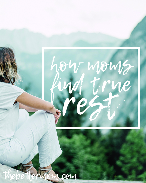 Do you get irritable? Frustrated? Us too. Desiring to parent from true rest is a struggle when we feel anything but peace in our hearts. Most of the time, however, we can trace unrest back to one thing that's missing....