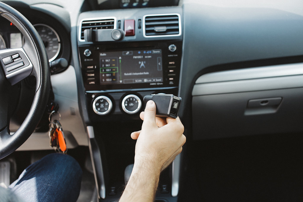 Having a teen driver can add to the anxiety we already feel as parents. Even though I know my 16-year-old son is a good driver, it still doesn't take away the nagging fear I can feel with a teen driver on the road. This is what Splitsecnd, an award-winning device is for. To ease our minds....