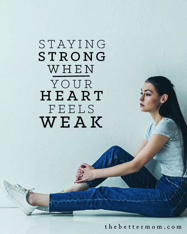 Do your troubles feel like they may overtake you? Are you ready to crumble under the pressures in your life, or maybe even in parenting? Take heart mama! Jesus has something to say about that very thing and we're diving in to study his specific encouragement for us today.