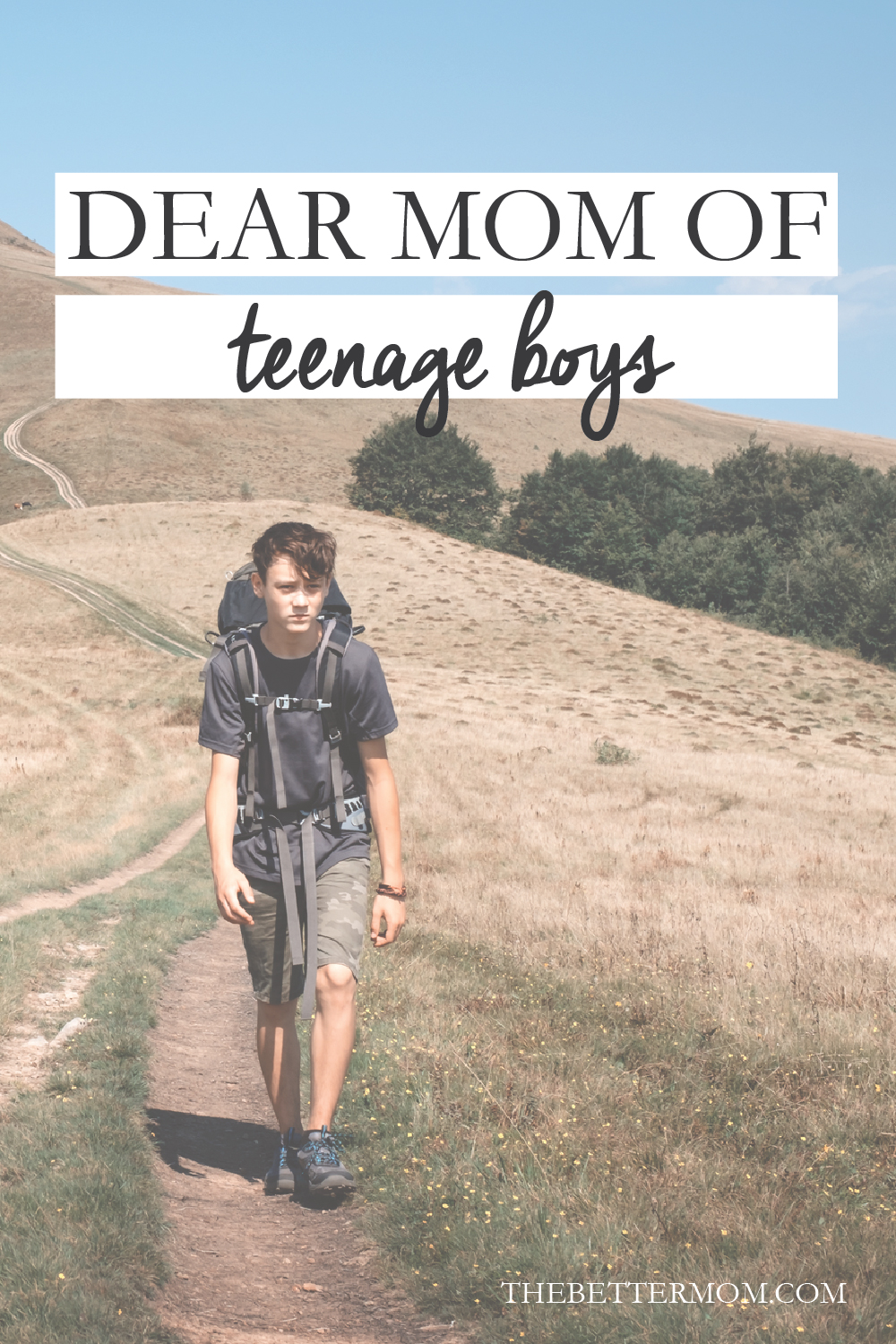 Are you raising teenage boys? Moms, we've got you- with heartfelt encouragement from other moms right where you're at, and sage wisdom to help you make it through this season.