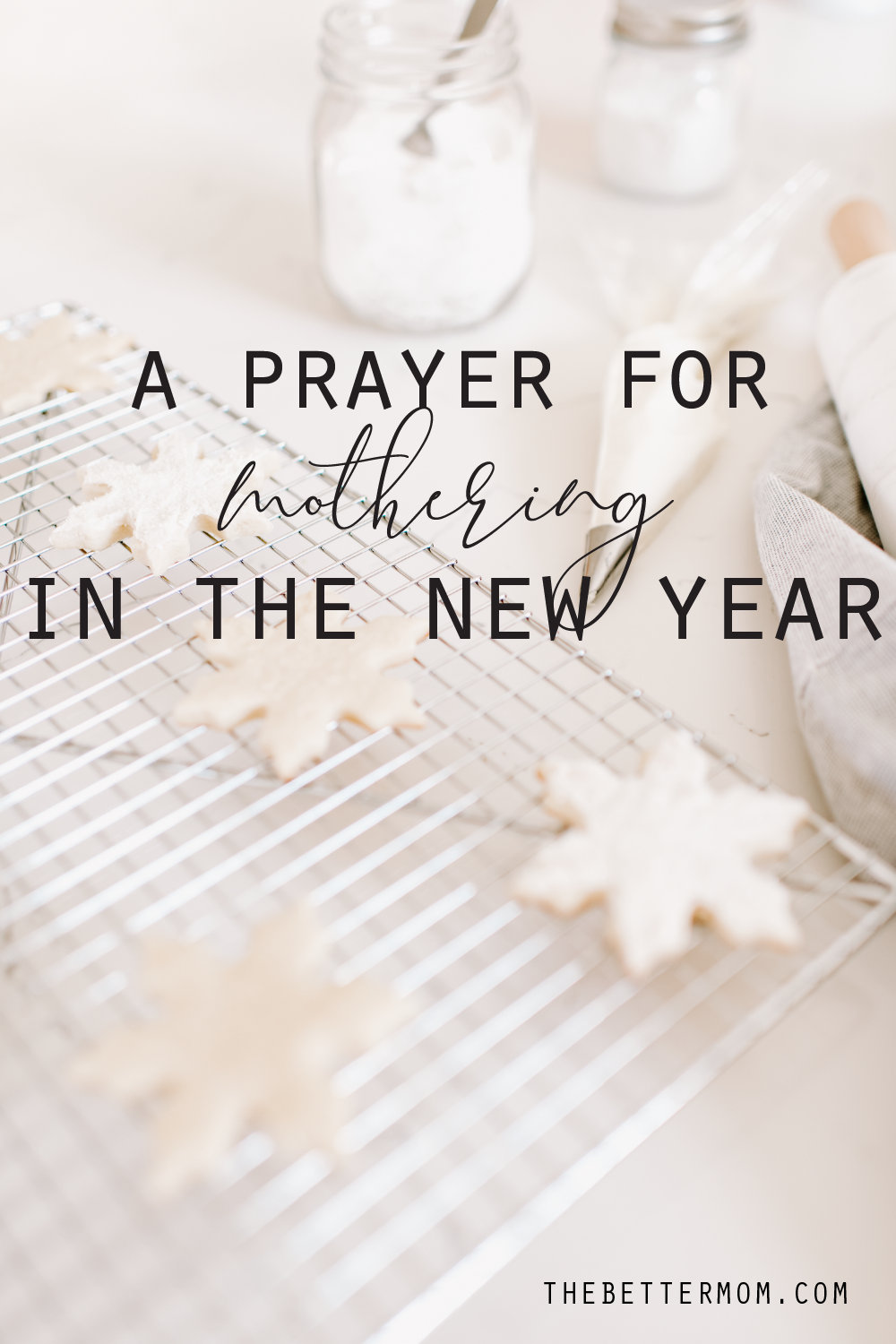 As we enter the #NewYear, it is time for a fresh start. It's that season where we often reflect and refocus. During a time of the year when people resolve to lose weight, spend less, stop eating chocolate, and get out of bed earlier, what about resolving to be a different kind of mom this year? Not a perfect #mom, but a better mom. By God's grace, a mom who is recommitted to the role God has called you to. . #Motherhood is not easy. So as we start a new year, how about we start with seeking God's help. . Join me on the blog as I share a #prayer for mothering in the new year.