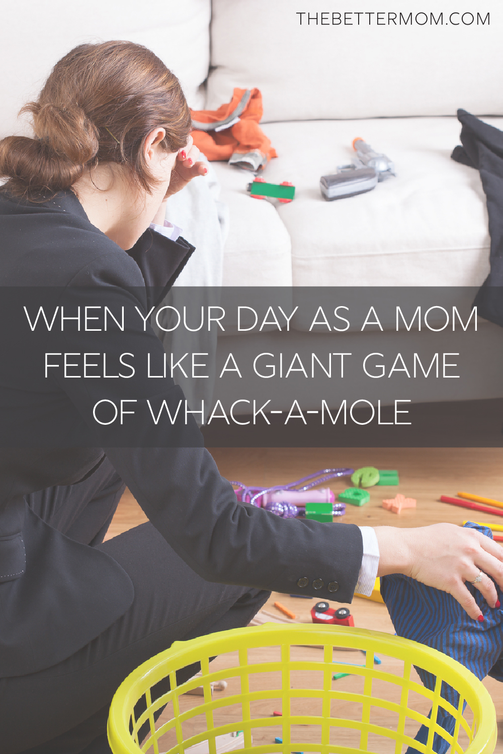 Do you wonder if you're accomplishing anything as a mother? Putting out one fire, restoring order in one area, only to discover three other areas of chaos have popped up in the meantime? We know a little about what that's like. And we're here with encouragement for how to really reign in those long days.