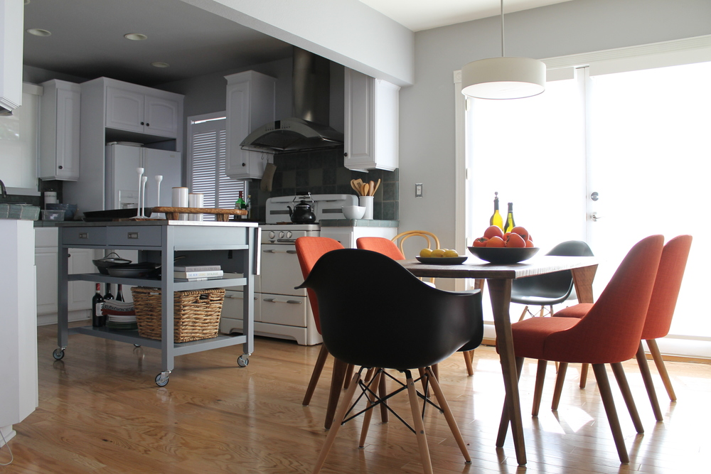 Great Since The Kitchen Opens Right Onto The Dining Room, We Decided To Rip Out  The Existing Kitchen Island And Replace It With Crate And Barrelu0027s Sheridan  ...