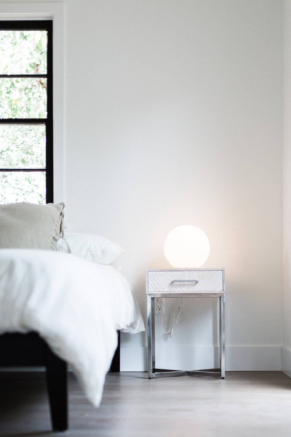 IKEA's simple globe lamps create a soft and glowy light. Almost childlike in its appeal, and something you never outgrow.