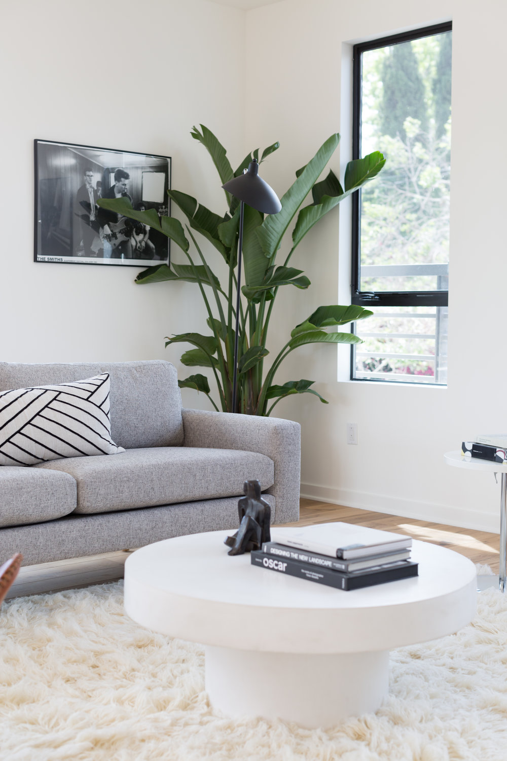 COVO Staging A Silverlake NewBuild Madison Modern Home - Cb2 shroom coffee table
