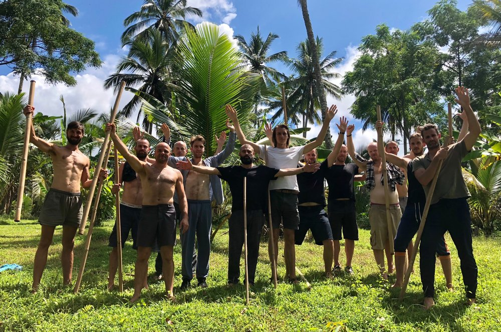 Men of the 2018 Bali Elemental Immersion.