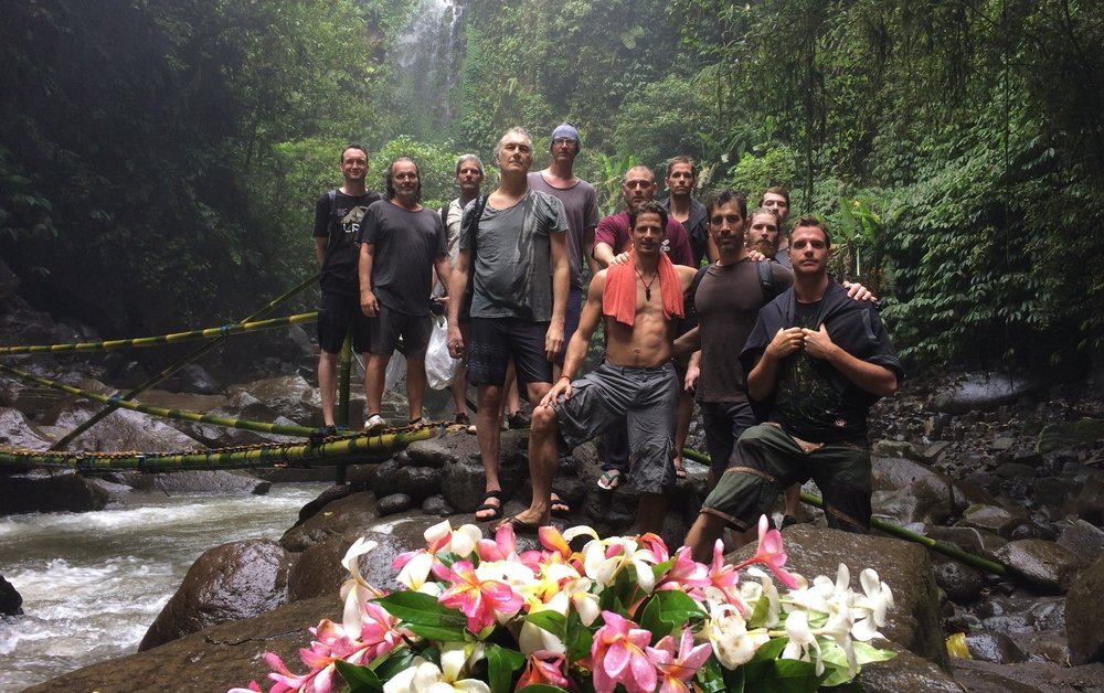 Men of the 2017 Bali Elemental Immersion.