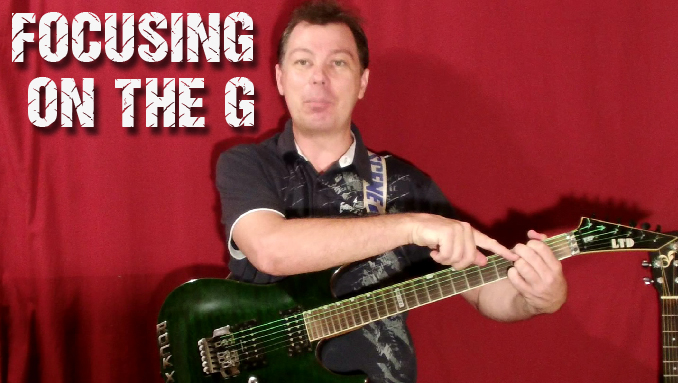 G string guitar lesson
