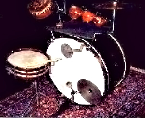 Early 1900 drum kit