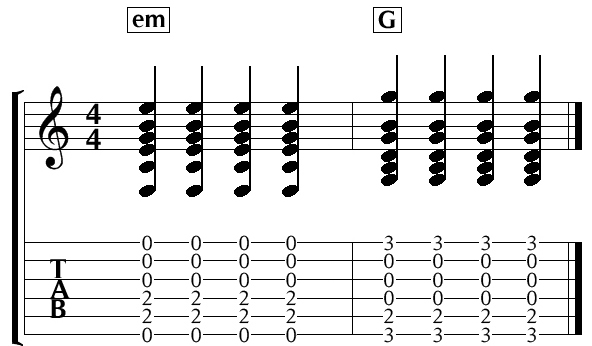 easy chord change