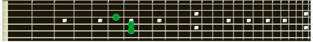 A Major guitar triad 2
