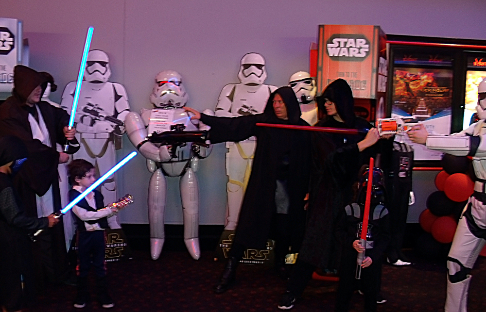 Star Wars Midnight Screening