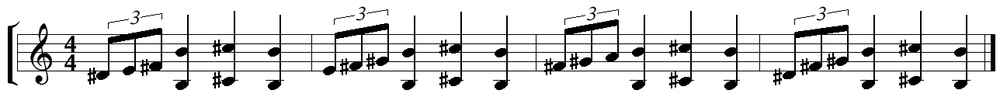 Melody lines with octaves