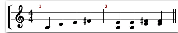 minor pentatonic exercise