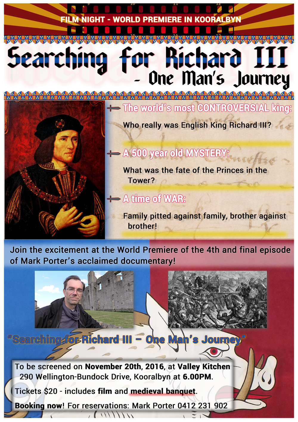 King Richard III promo poster