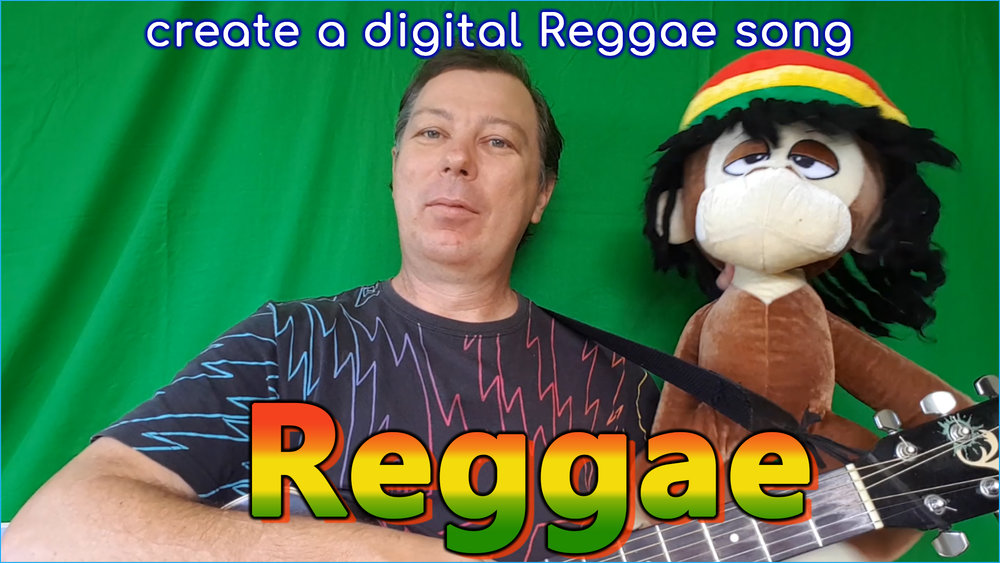 Electronic music? This example shows how to write a reggae song in a Digital Audio Workstation